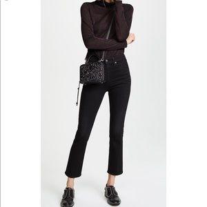 🆕 Rebecca Minkoff black glitter crossbody bag
